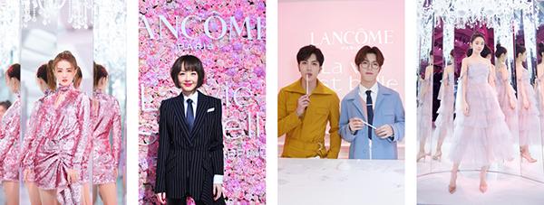 由左至右: 徐璐、陈鲁豫、秦奋&韩沐伯、张佳宁 图片来源 兰蔻