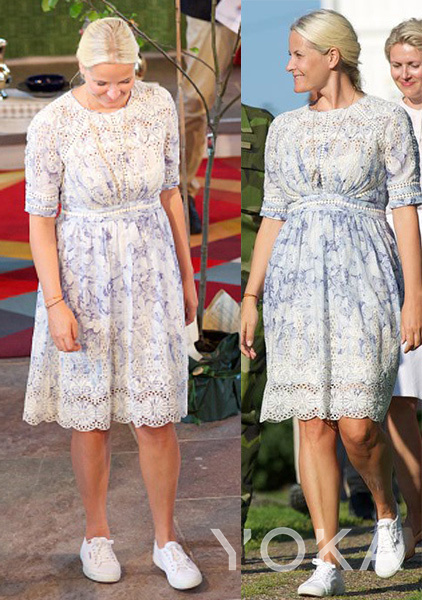 挪威梅特王妃(图片来源于hellomagazine)