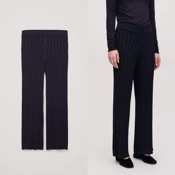 COS螺纹长裤 价格约890元