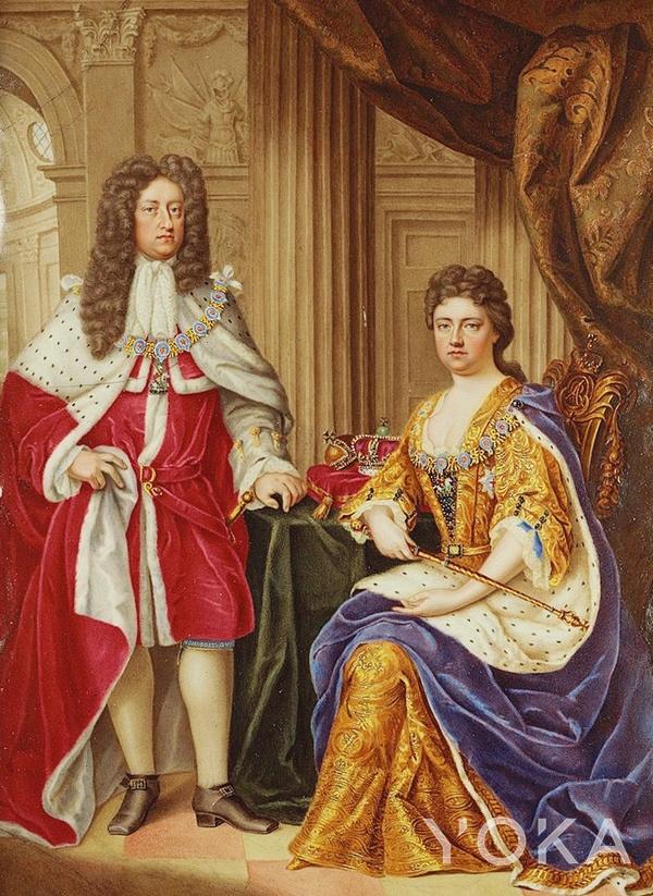 英国安妮公主和丹麦乔治王子