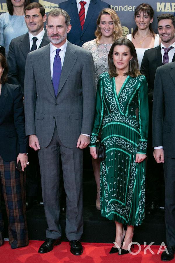 西班牙莱蒂西亚王妃(图片来源于hellomagazine)