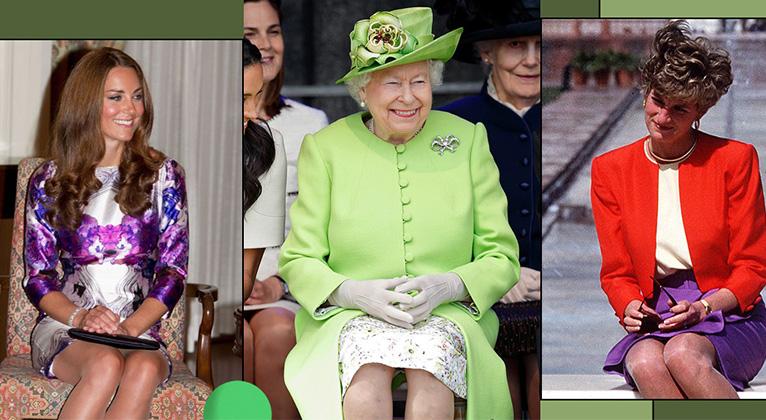 英國王室女性坐姿暴露出的「咖位之爭」