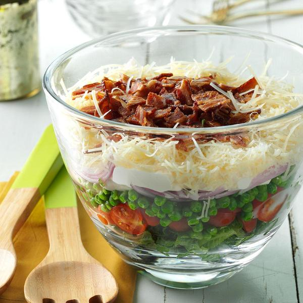 能量沙拉  图片来自tasteofhome.com