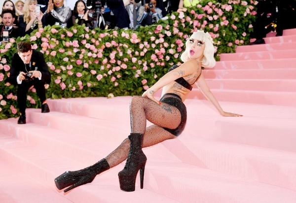 Lady Gaga红毯换装秀 第四套look
