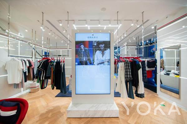 TOMMY HILFIGER亚洲首家未来概念店开幕(图片来源于品牌)