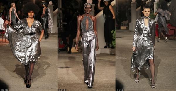 2020春夏纽约时装周:Tommy Hilfiger (图片来源:视觉中国)