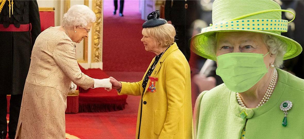 疫情下的英国王室,