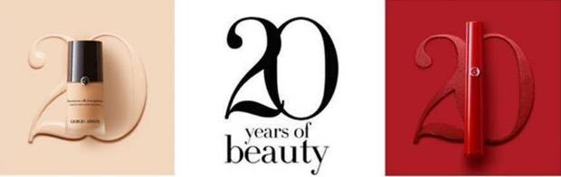 阿玛尼美妆20周年 从顷刻瞩目到永志难忘的优雅