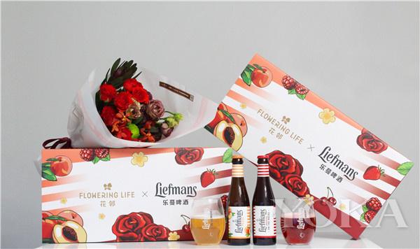 单品推荐:乐蔓啤酒×花邻Flowering Life七夕联名限量盲盒(图片来源于品牌)
