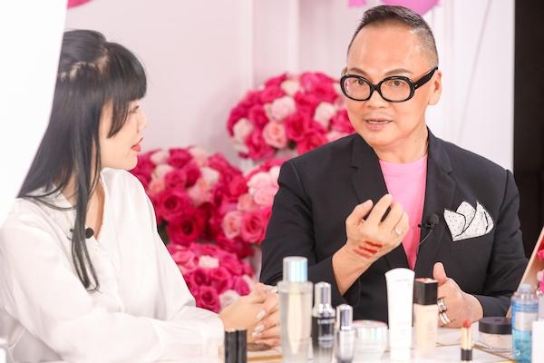 (右)中国彩妆届殿堂级人物 Andy Koh   (按出场顺序排列)