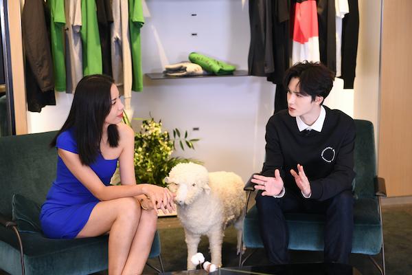 BOSS品牌Z世代大使朱正廷亮相长沙 解读品牌责纫宣言