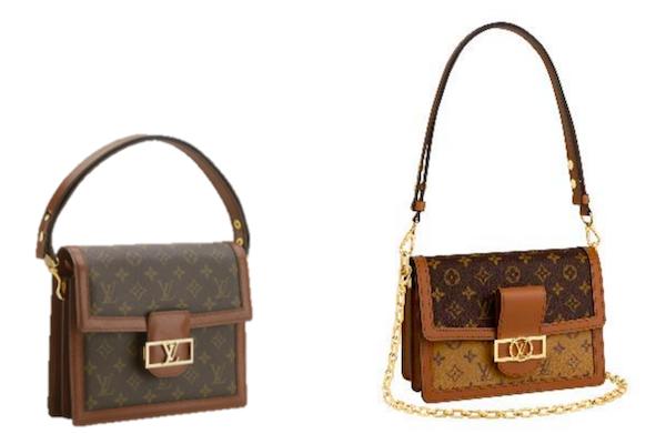 路易威登 Sac Dauphine 包袋,1976年;路易威登 Dauphine 手袋,2019年