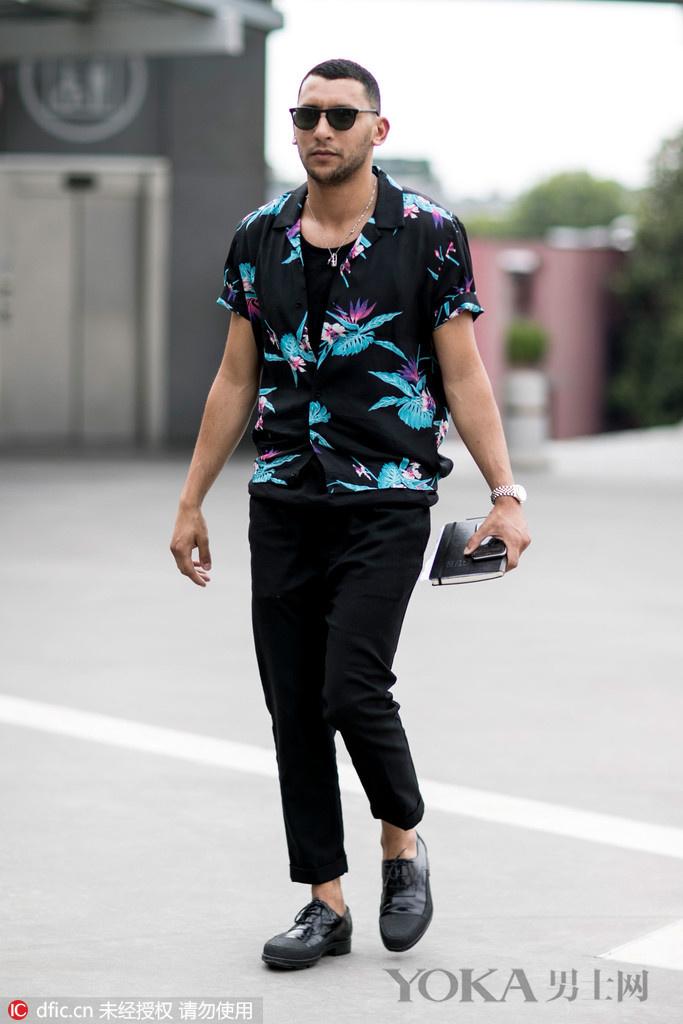 6款短袖衬衫竟能穿得如此好看 你为什么要排斥