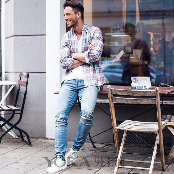 才不要做路人甲 白T+牛仔裤的时髦穿法快拿去