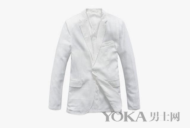 别怪我没告诉你 男神私藏的这4款白色外套怎么搭