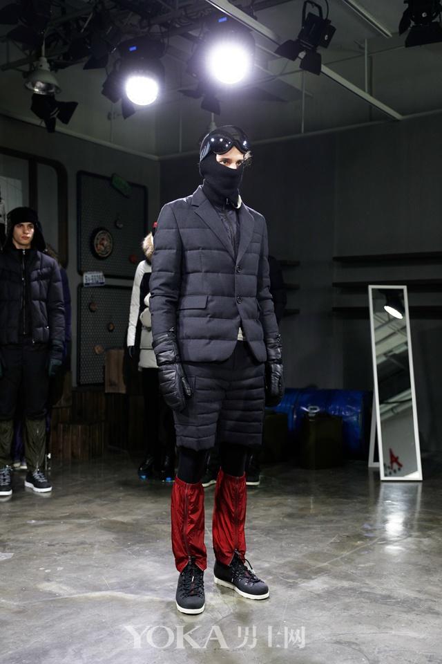 羽见魔登 波司登国际设计师系列品鉴会神秘启幕