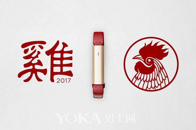 数码产品变身开运吉祥物 用激情红色开启2017年