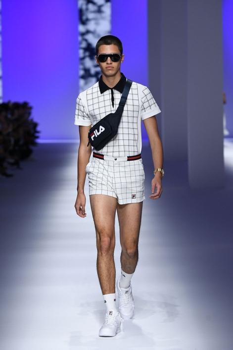 FILA亮相米兰时装周 定义全新高级运动时装